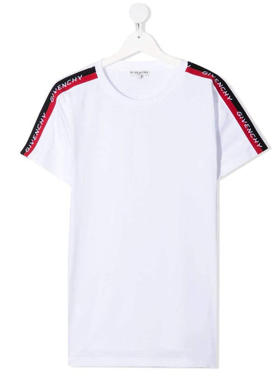 Givenchy T-Shirt Givenchy Logo Panel Trim T-Shirt