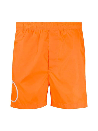 Valentino Swim Shorts 48 Valentino V Logo Orange Swim Shorts