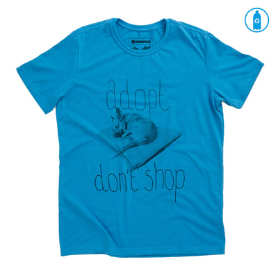 Camiseta Gola C PET Reciclado - Adopt Don't Shop - RK