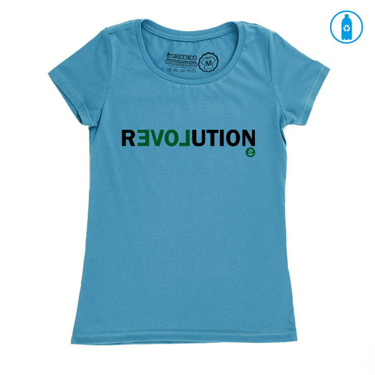 Camiseta Baby Look PET Reciclado - Revolution