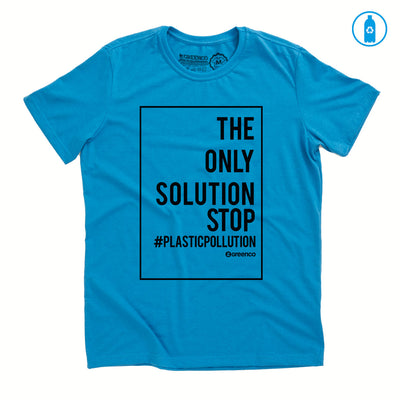 Camiseta Gola C PET Reciclado - Plastic Pollution