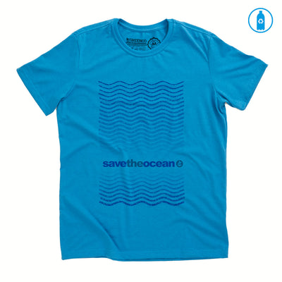 Camiseta Gola C PET Reciclado - Save The Ocean