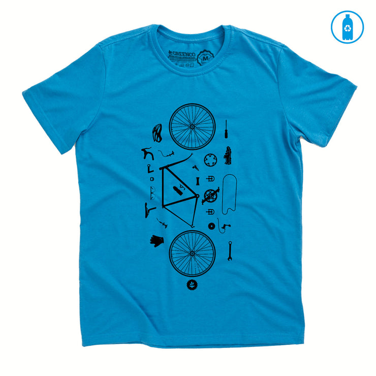 Camiseta Gola C PET Reciclado - Desconstrubike