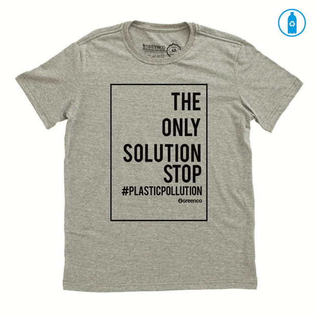 Camiseta Gola C PET Reciclado - Plastic Pollution - RK