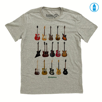 Camiseta Gola C PET Reciclado - Guitar Types