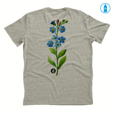 Camiseta Gola C PET Reciclado - Flor Aquarela 2
