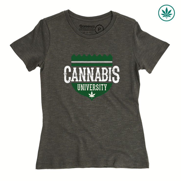 Camiseta Baby Look Cânhamo - Cannabis University