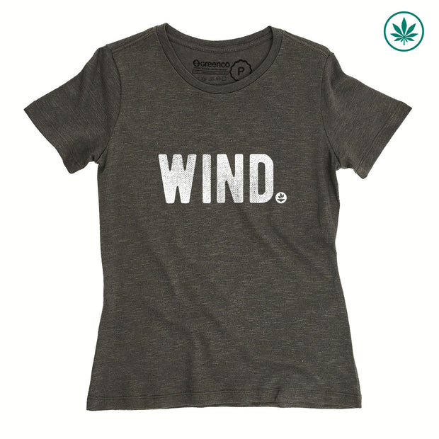 Camiseta Baby Look Cânhamo - Wind