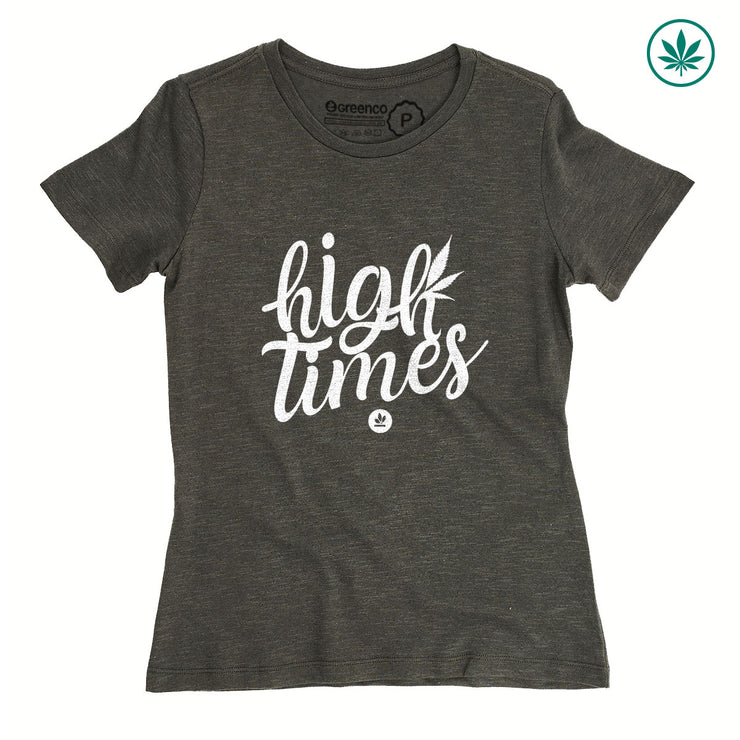 Camiseta Baby Look Cânhamo - High Times