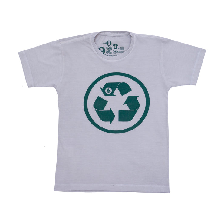 Camiseta Infantil - Recicle