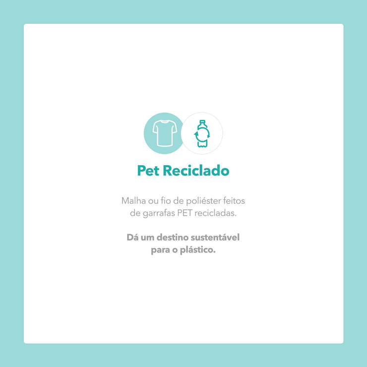 Camiseta Baby Look PET Reciclado - Tartaruga