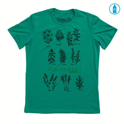 Camiseta Gola C PET Reciclado - Tea Herbs