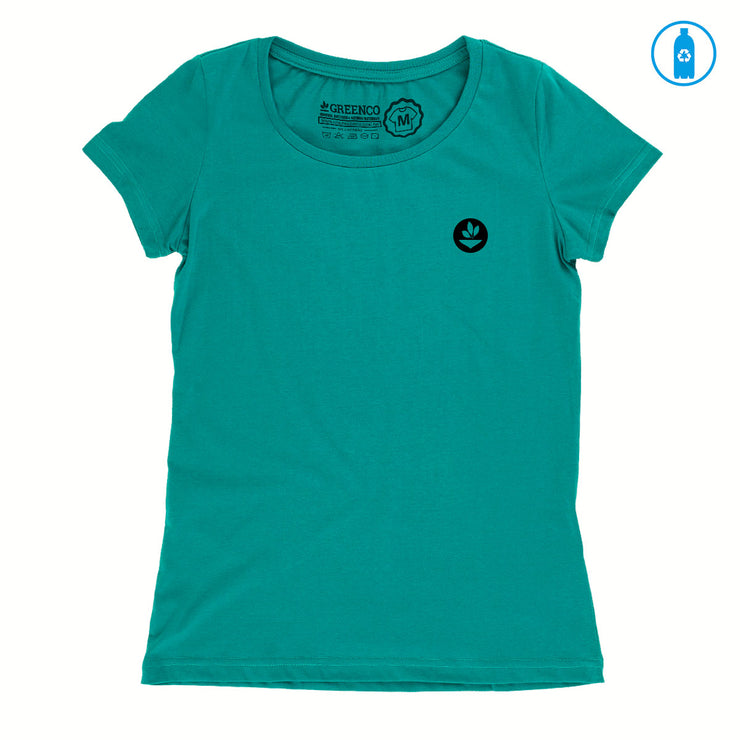 Camiseta Baby Look PET Reciclado - Tree Code