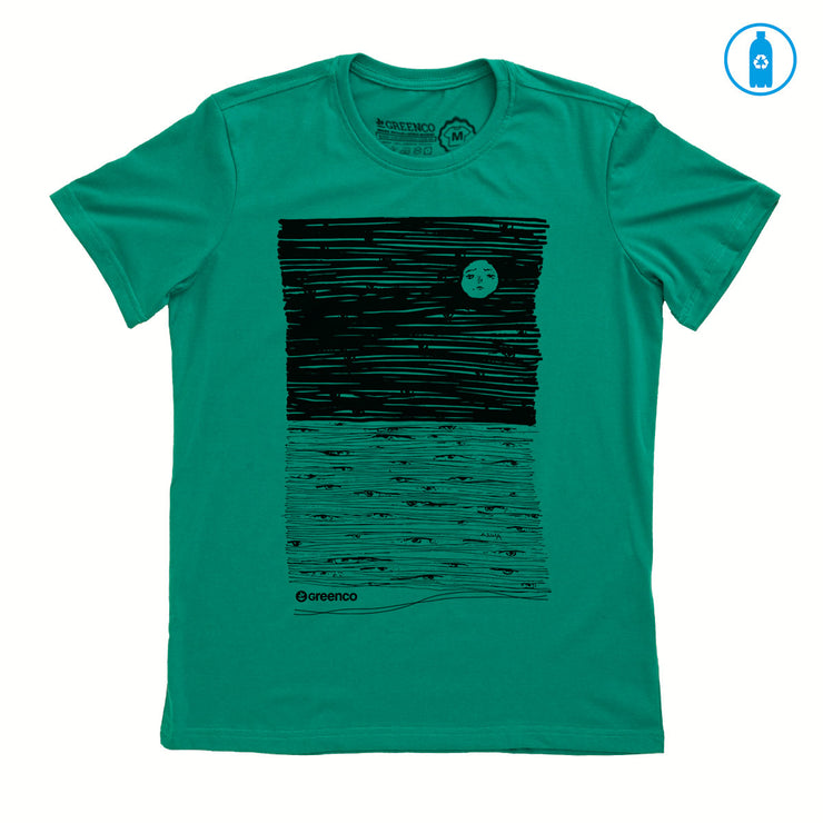 Camiseta Gola C PET Reciclado - Moon Eyes