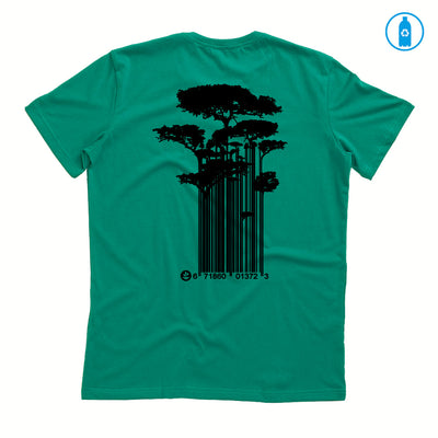 Camiseta Gola C PET Reciclado - Tree Code