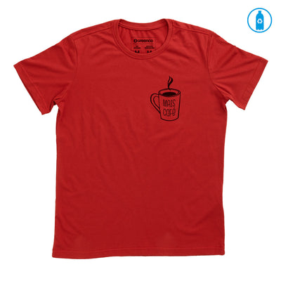 Camiseta Gola C PET Reciclado - Mais Café