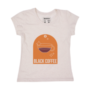 Camiseta Feminina Pet + Linho - Black Coffee