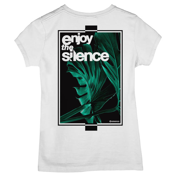Camiseta Baby Look Enjoy The Silence