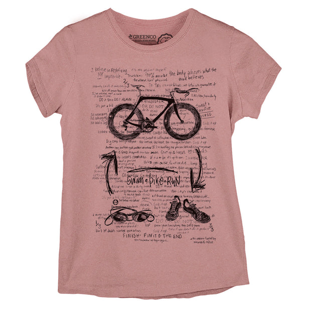 Camiseta Baby Look Triathlon