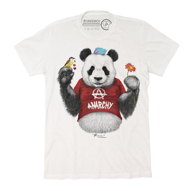 Camiseta Gola C Punk Panda Red - RK