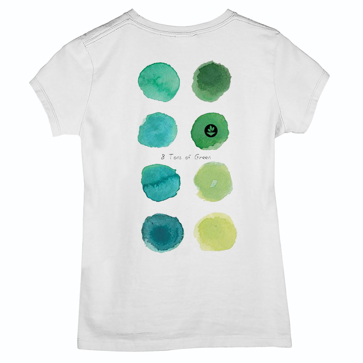 Camiseta Baby Look 8 Tons Of Green