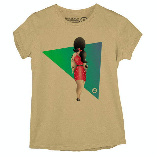 Camiseta Baby Look Rock Amy