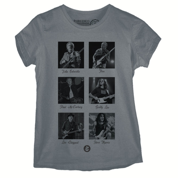 Camiseta Baby Look Bass Heroes
