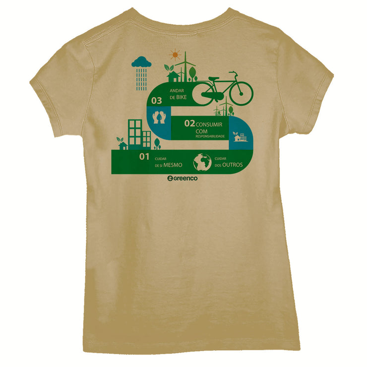 Camiseta Baby Look - Bike Nation
