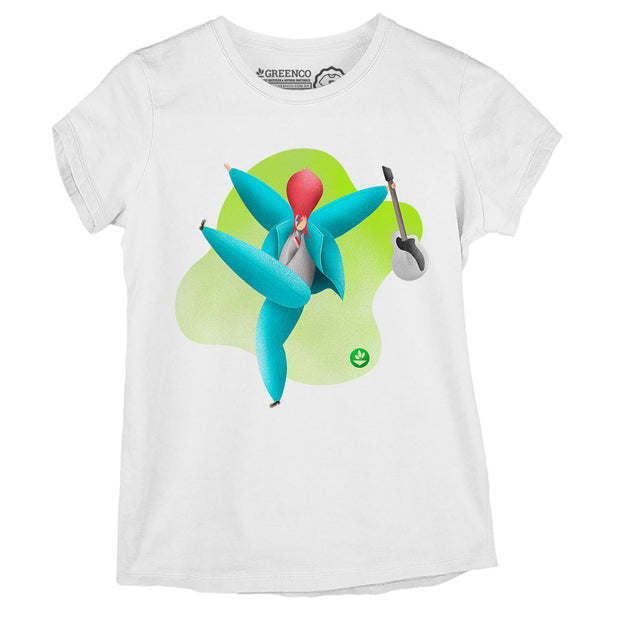 Camiseta Baby Look Rock Bowie