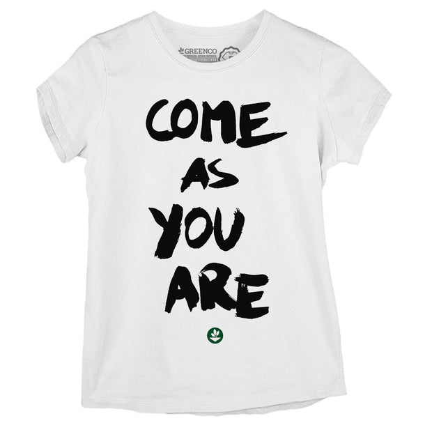 Camiseta Baby Look Come As You Are