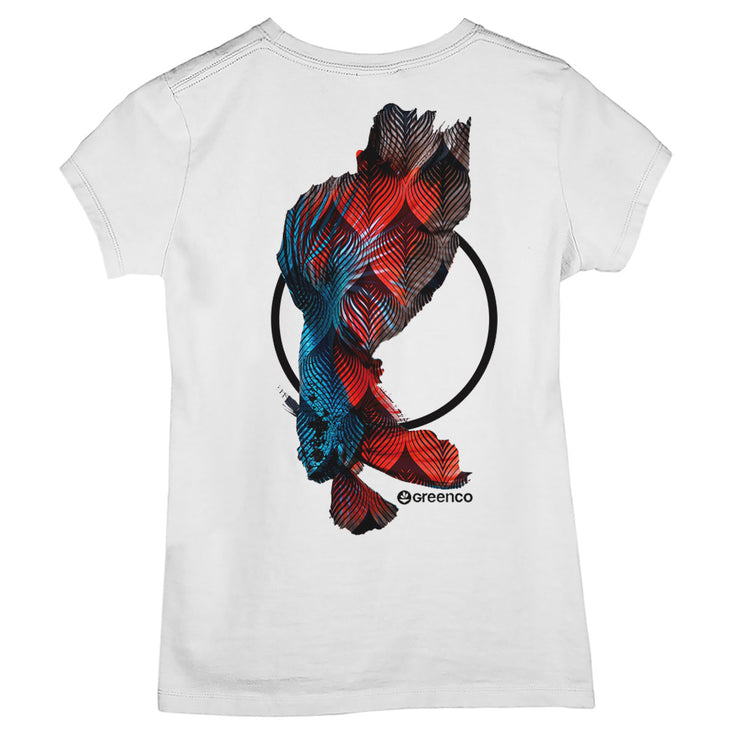 Camiseta Baby Look - Fish