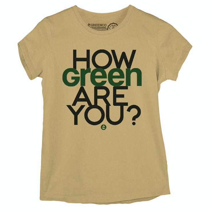 Camiseta Baby Look - How Green Are You