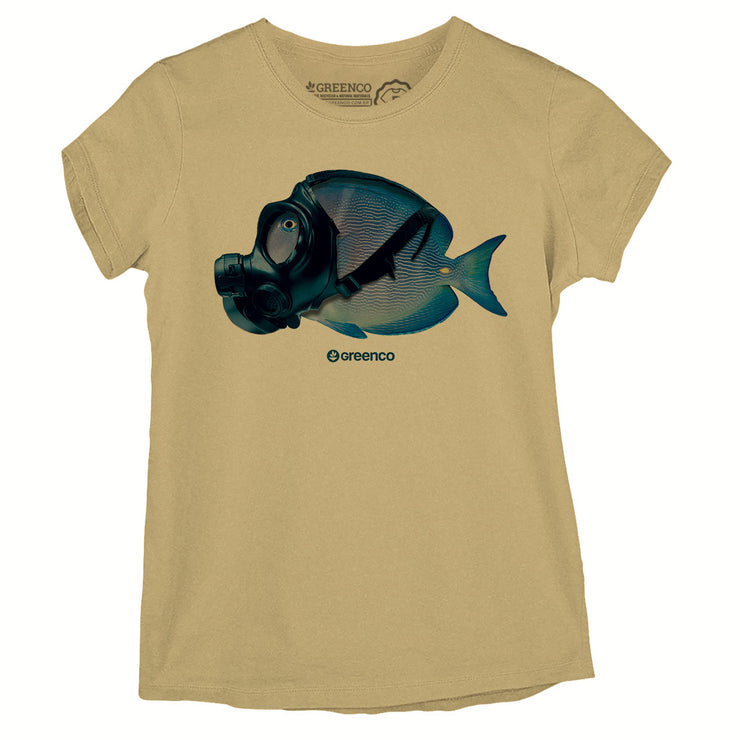Camiseta Baby Look -  Mask Fish