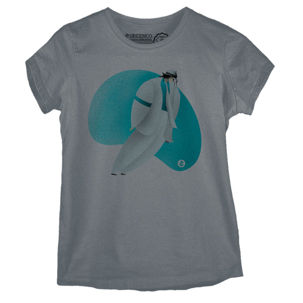 Camiseta Baby Look Rock MJ