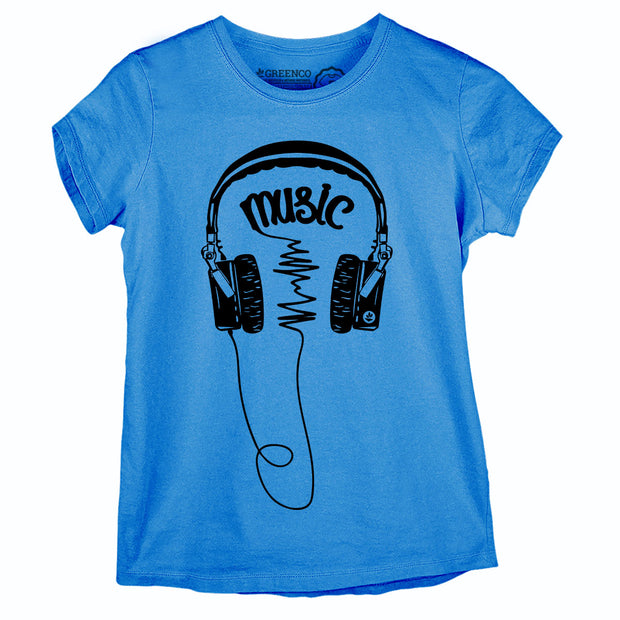 Camiseta Baby Look Music