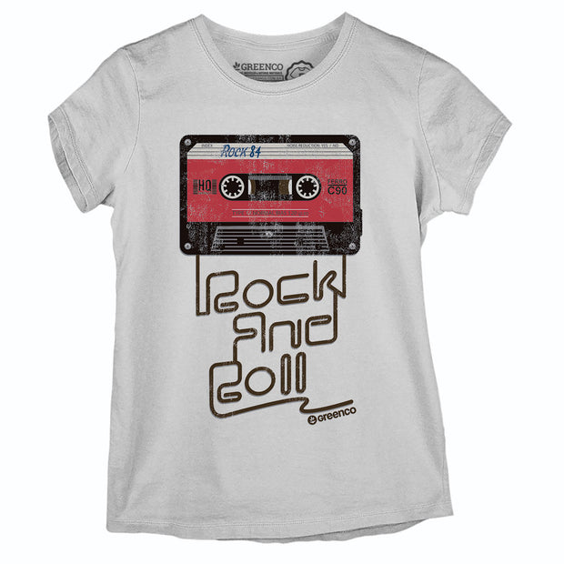 Camiseta Baby Look Old School
