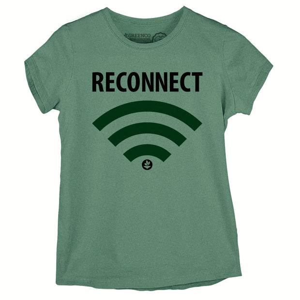 Camiseta Baby Look Reconnect