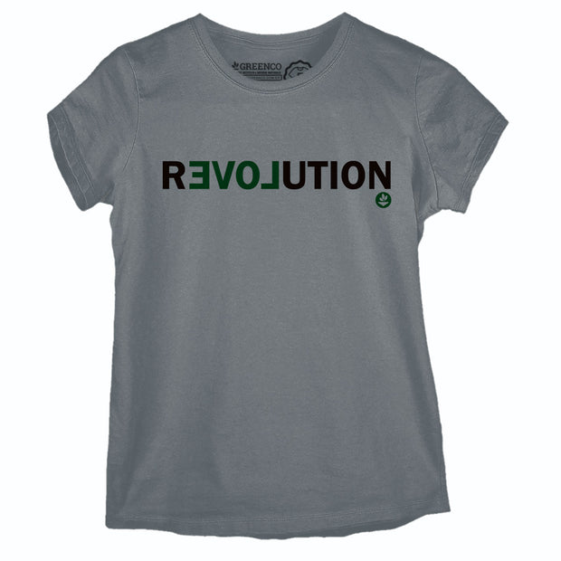 Camiseta Baby Look Revolution