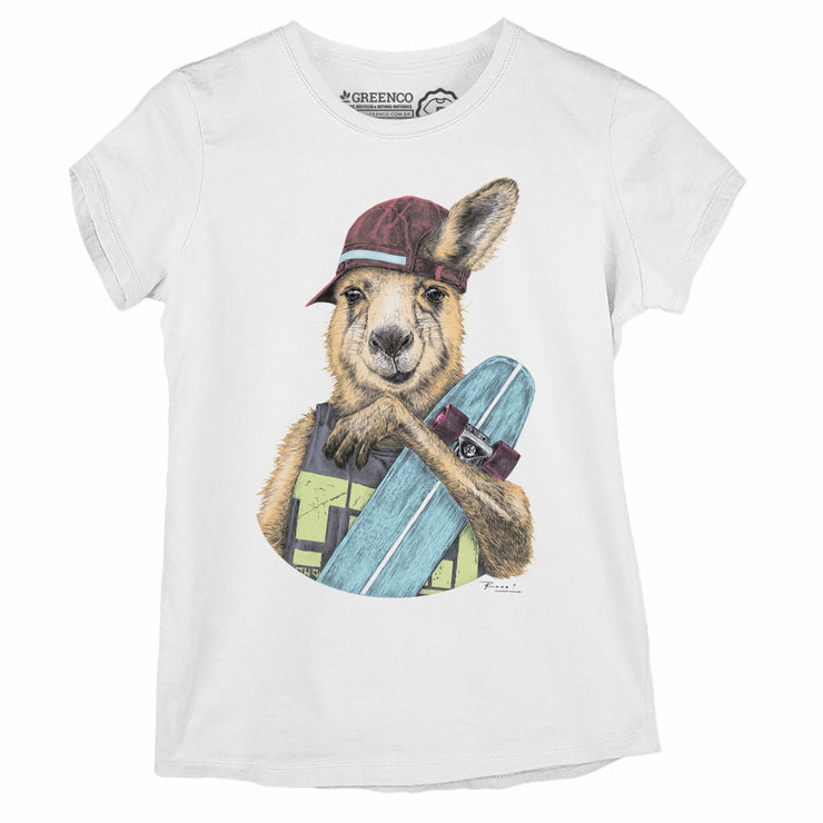 Camiseta Baby Look Skateroo Color - RK