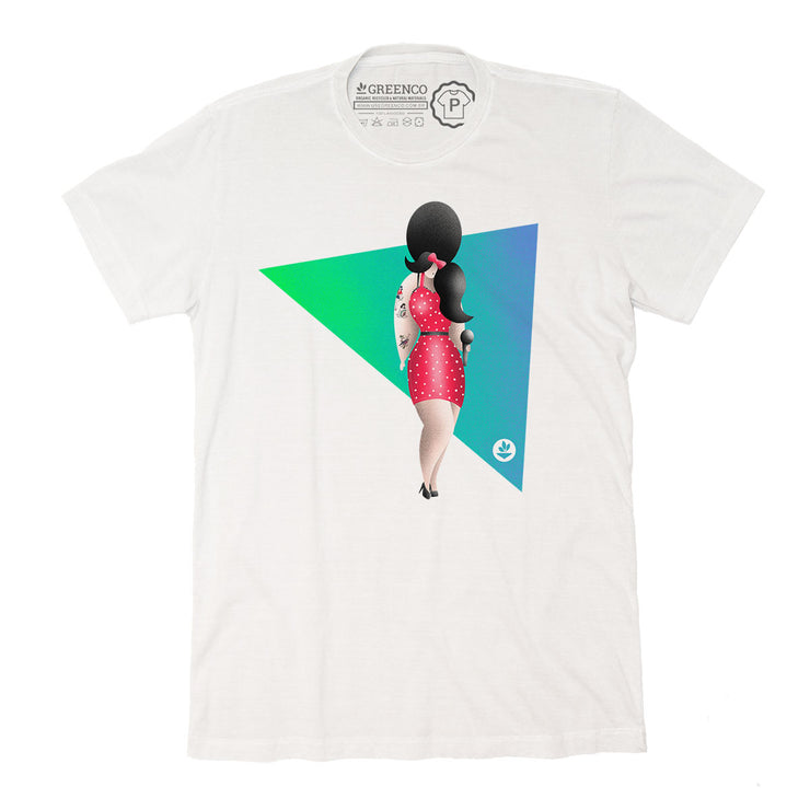 Camiseta Gola C - Rock Amy