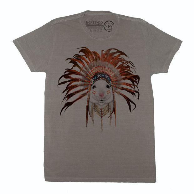 Camiseta Gola C Orange Feather Mouse - RK