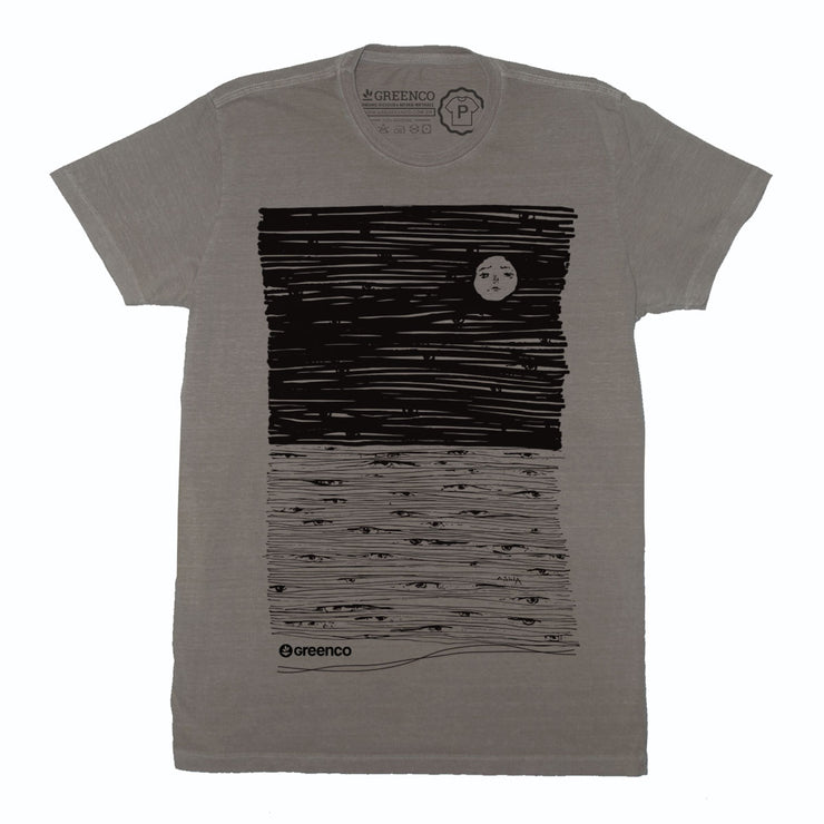Camiseta Gola C - Moon Eyes