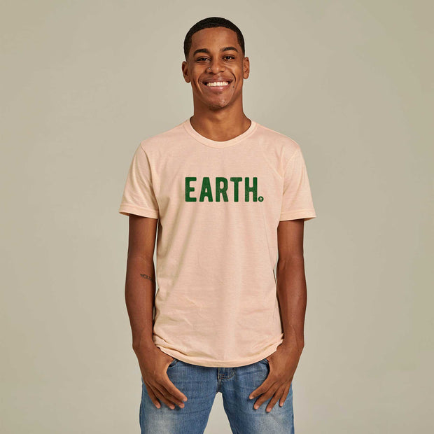 Camiseta Masculina PET + Linho - Earth
