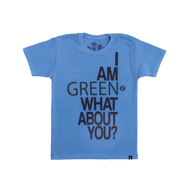 Camiseta Infantil - I Am Green