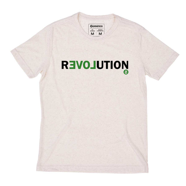 Camiseta Masculina PET + Linho - Revolution