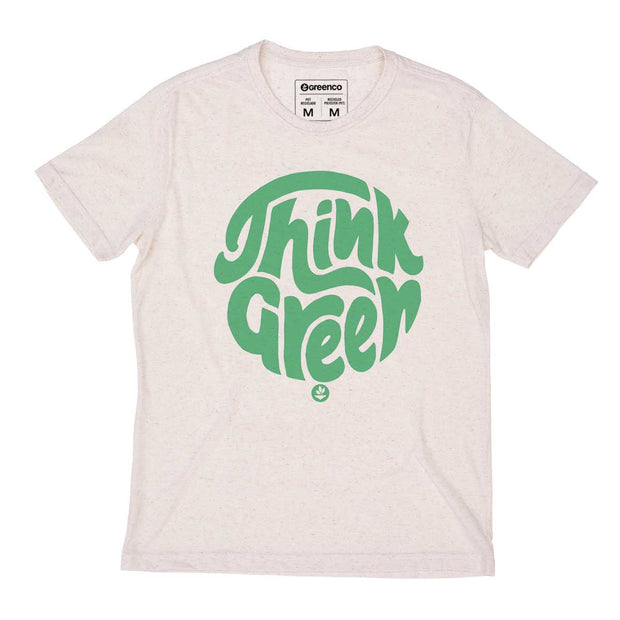 Camiseta Masculina PET + Linho - Think Green