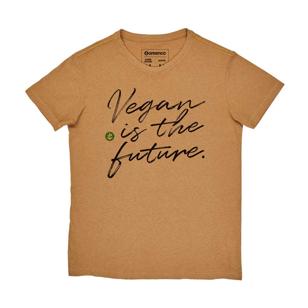 Camiseta Masculina Algodão Reciclado - Vegan Is The Future