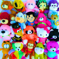 "50% Licensed Plush Mix (Small) 7-9"" ($2.24/EA DELIVERED)"