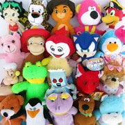 "50% Licensed Plush Mix (Medium)  9-12"" ($2.86/EA DELIVERED)"