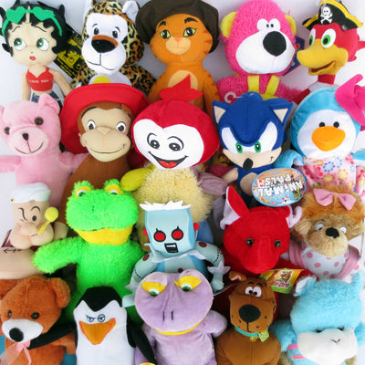 50% Licensed Plush Mix (Medium)  9-12